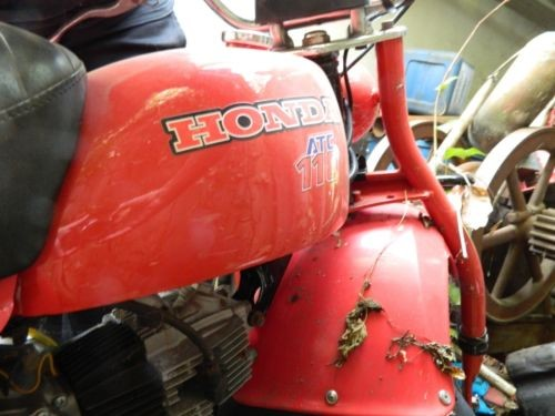 1985 Honda ATC 110 Red for sale craigslist